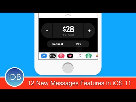 12 New Features For Messages in iOS 11