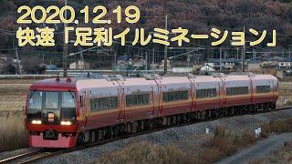 両毛線・烏山線(253系 快速「イルミネーション」・EV-E301系) 2020.12.19
