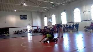 Darby wrestling