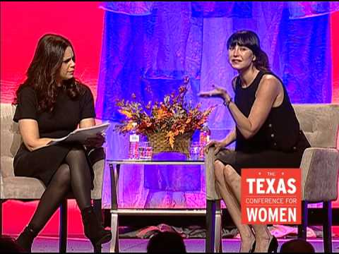 Soledad O'Brien and Tamara Mellon at the 2014 Texas Conference for Women