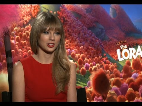 Taylor Swift fell in love with verse through Dr. Seuss - interview for 'The Lorax'