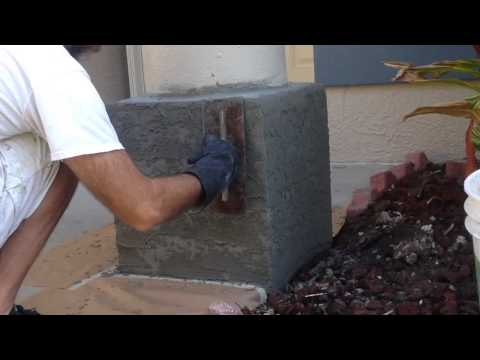 How To Apply Skip Trowel Texture To A Stucco Repair