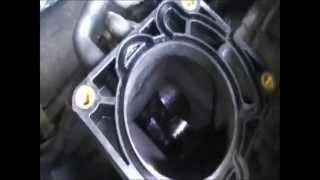 чистка дроссельной заслонки на Форд Мондео(, 2015-04-07T15:34:38.000Z)