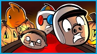 golf with friends funny moments 7 spooky mansion level ooooh scary and more rage
