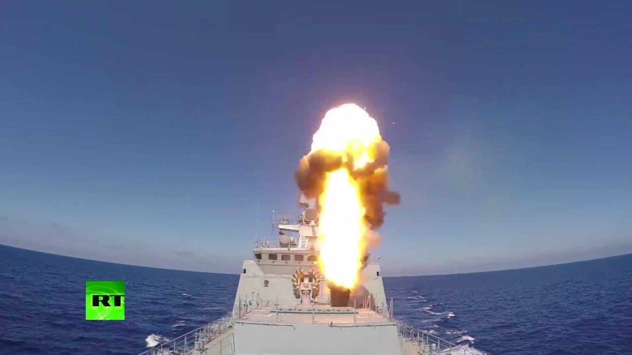 Удар крылатыми ракетами по ИГ в Пальмире