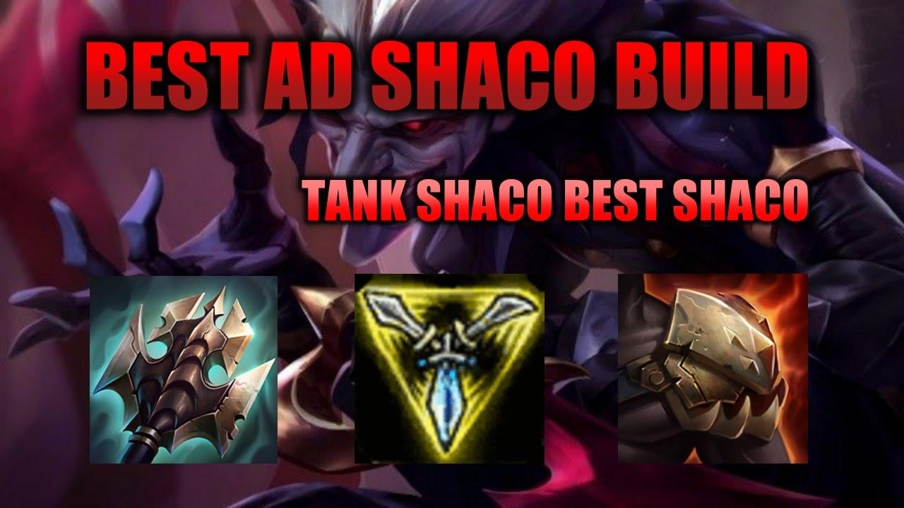 Shaco Build S7: BEST NEW AD SHACO TANK BUILD 2017?!