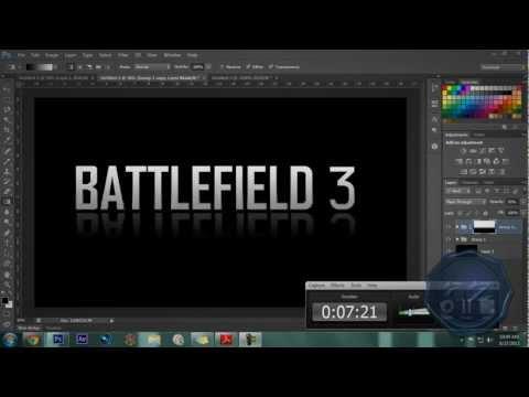Photoshop Tutorial | Creating Battlefield 3 Text
