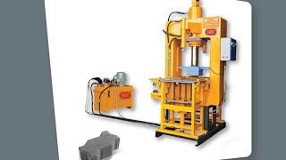 Model P03 High Pressure Paver Block Machine - Himat Machine Tools