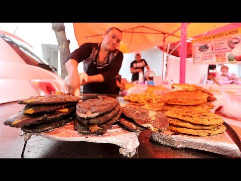 Yummy MEXICAN STREET FOOD at a MOVING MARKET + ATTRACTIONS with MIKE COREY | Mexico City, Mexico