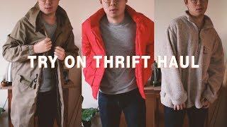 Try-on Thrift Haul | Men