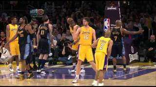 Video 04 09 2009   Nuggets vs  Lakers   The Return Of Andrew Bynum download MP3, 3GP, MP4, WEBM, AVI, FLV November 2017