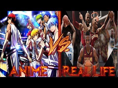 Kuroko No Basket VS Real Life