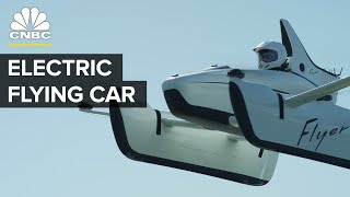 The New Flying Car From Google Co-Founder Larry Page   CNBC