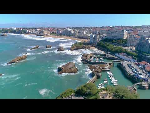 Biarritz par drone