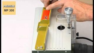 Microfresatrice Proxxon MP300