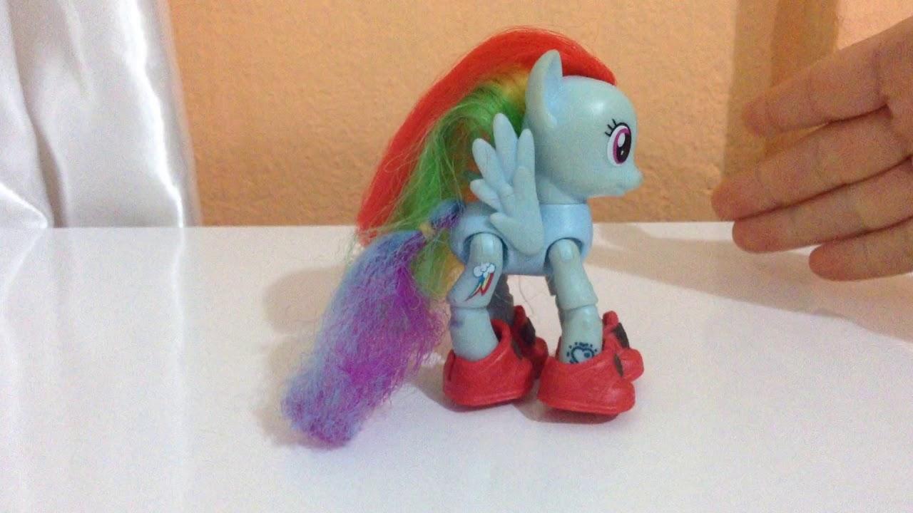Pony tanıtımı (Rainbowdash ve cheerelie)