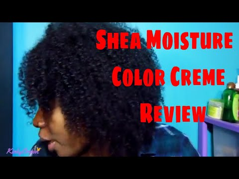 Shea Moisture coloring System Review