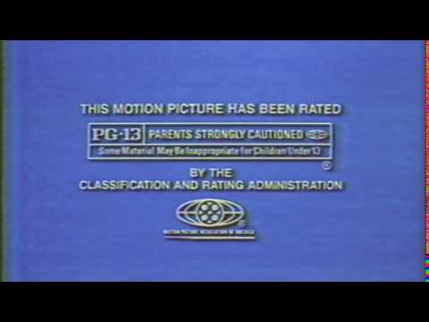This Motion Picture has been rated PG-13 (1991)