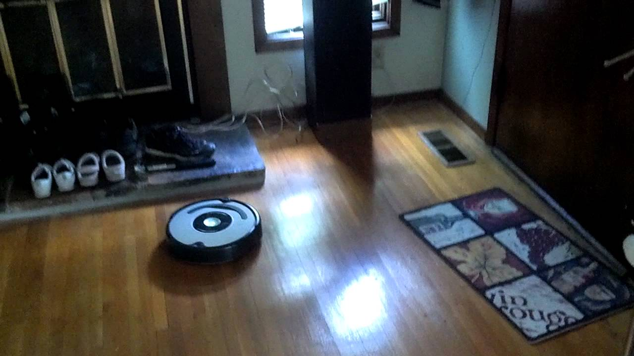 Wood floor and roomba - Wood Floor And Roomba - YouTube
