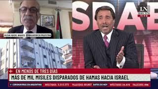 Tenso cruce entre los embajadores de Israel y Palestina en el programa de Feinmann