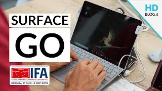 HDblog vi mostra in anteprima il nuovo #SurfaceGo di #Microsoft che...