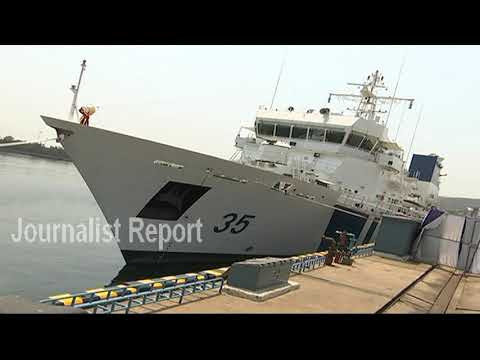 Grand Launch Veera Coastal Ship in Visakhapatnam