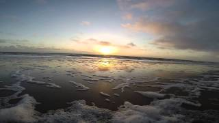 SONNENUNERGANG ÜBER BORKUM- SUNSET BORKUM -TIMELAPE/150° GOPRO