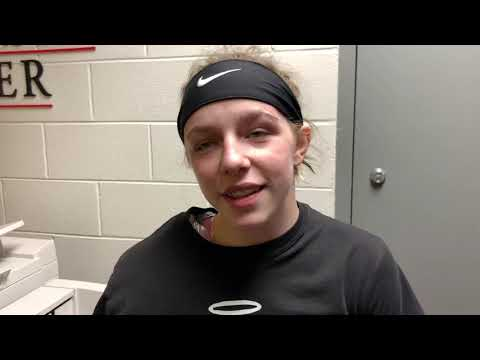 Olivia Shore After Tough State Tournament In Ohio