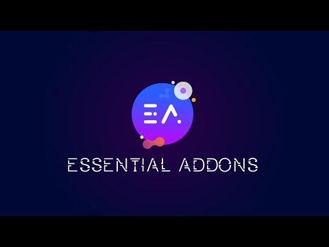 Essential Addons for Elementor: Most Popular Addons & Widgets for Elementor