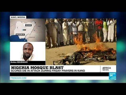 Nigeria mosque blast: Scores die in attack during prayers in Kano