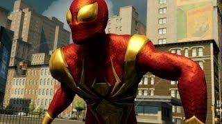The Amazing Spider-Man 2 - Iron Spider Suit Showcase / Free Roam Gameplay