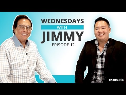 My interview with Robert Kiyosaki - best selling author of Rich Dad Poor Dad!