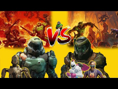 DOOM 2016 Vs DOOM Eternal: The Good, The Bad And The Ugly.