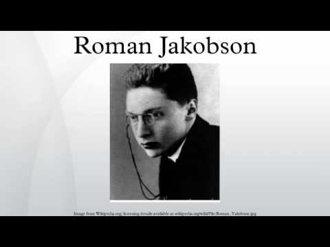 Roman Jakobson - YouTube