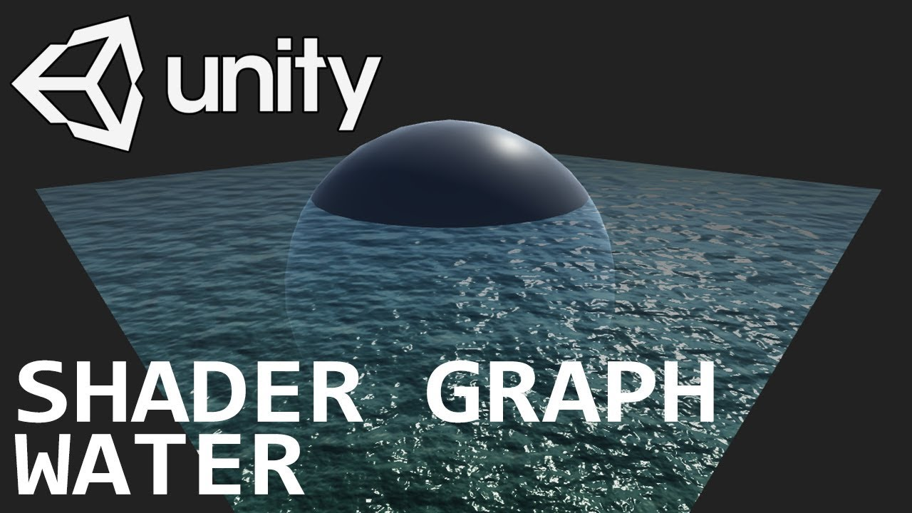 Basic water using Shader Graph in Unity