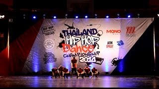 SONG WITH ALMIGHTY @ HIPHOP INTERNATIONAL THAILAND 2014