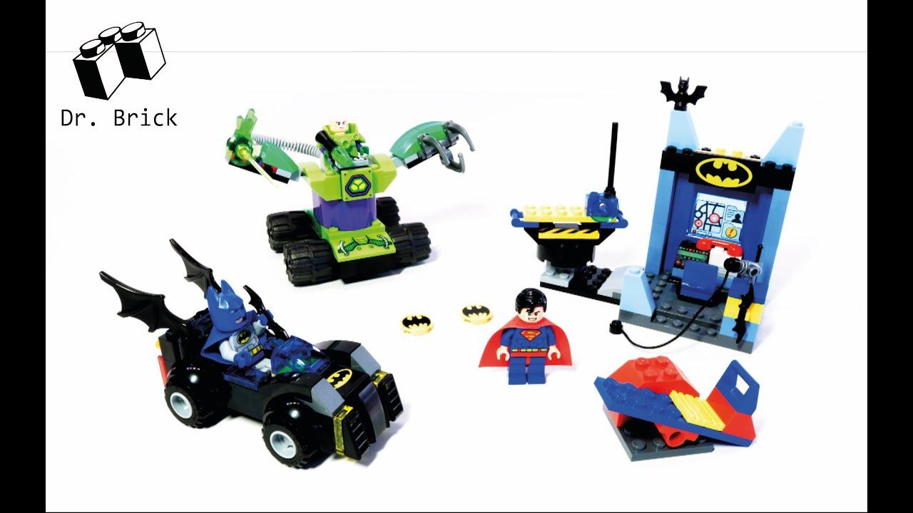LEGO JUNIORS / 10724 BATMAN & SUPERMAN vs. LEX LUTHOR ...