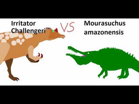 BRS4 Irritator Vs Mourasuchus
