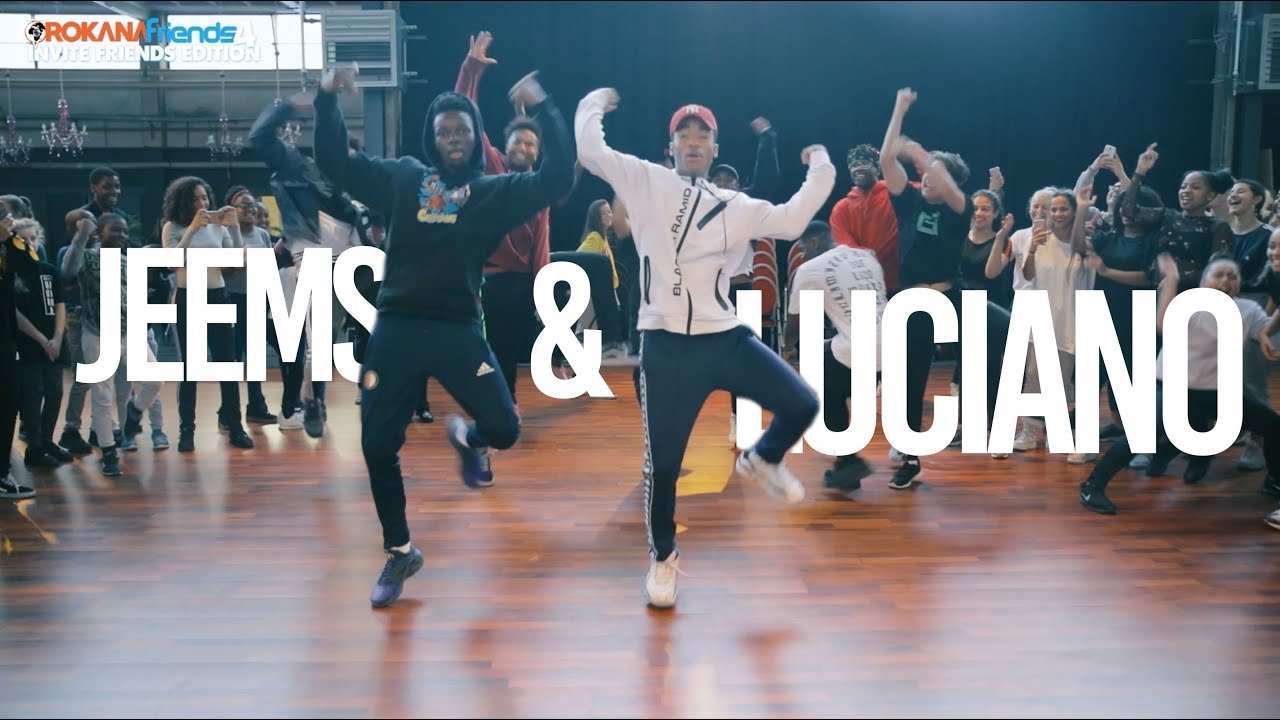 Luciano & Jeems | Orokana Friends Workshops 4 | Hip Hop Choreography