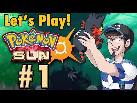 JWittz Plays Pokemon Sun Part 1 | ALOLA!
