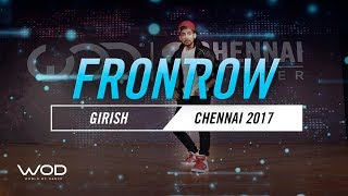Girish | FrontRow | World of Dance Chennai Qualifier 2017 | #WODCHE17