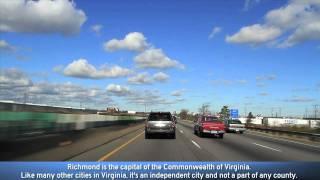 I-95 Richmond, VA (Exits 67A to 80)