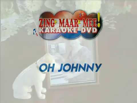 Tante Leen -  Oh Johnny ( KARAOKE ) Lyrics