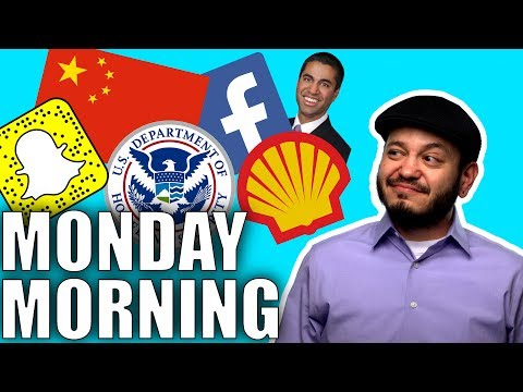 China Social Rank, Homeland Security Blog List, Facebook Stress, FCC Investigated: Monday Tech Chat