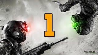 Let´s Play Splinter Cell Blacklist Multiplayer Deutsch - Part 1 - Spies vs. Mercs Gameplay