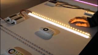 LEDTUNING.NL - Werking 4-zone Kleurtemperatuur LED-strip Dimmer