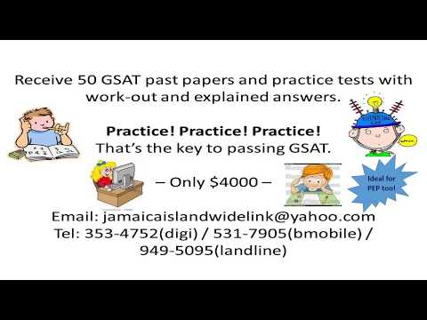 PEP And GSAT Past Papers YouTube