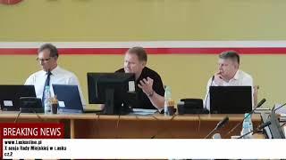 X sesja Rady Miejskiej w Łasku  cz.2