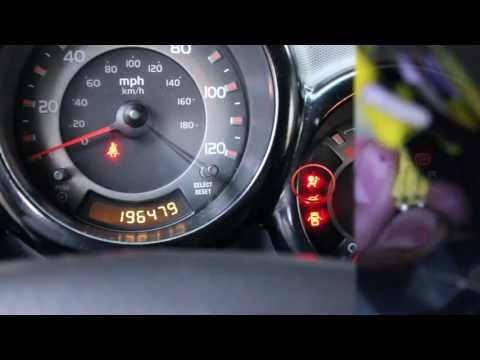 How to turn off the airbag light Honda Element
