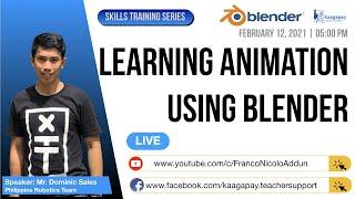 Skills Training Series | Learning Animation Using Blender